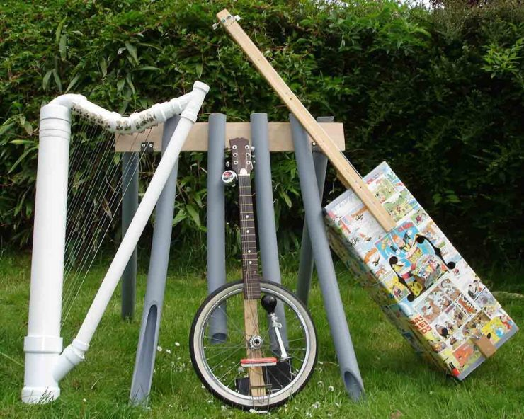 NEW - Make an instrument at home