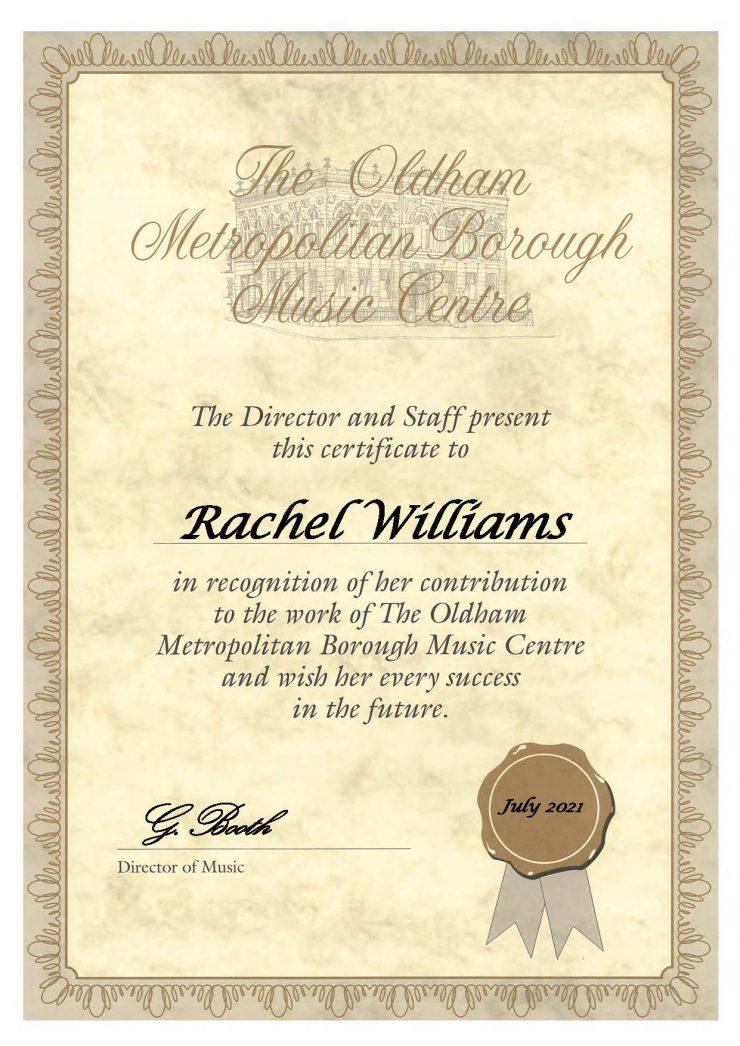 Rachel Williams - Tuba