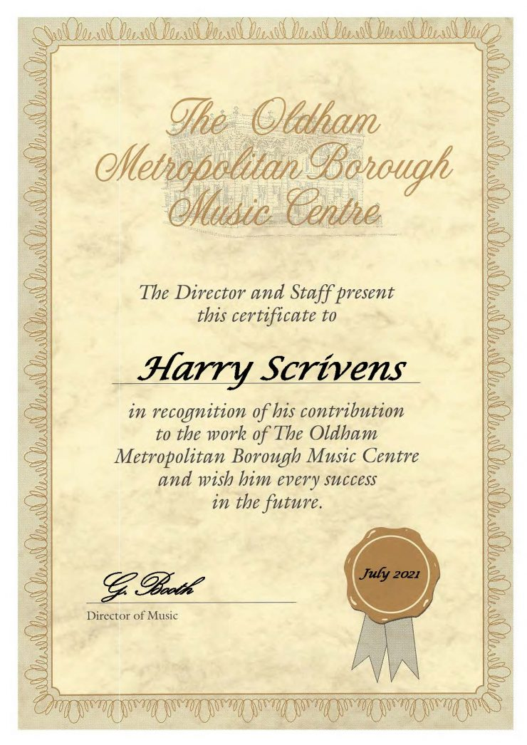 Harry Scrivens - Bassoon